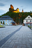 Orava castle. View of Orava castle in northern Slovakia royalty free stock image