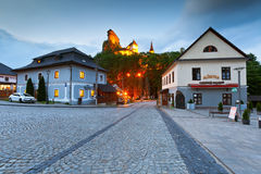 Orava castle. View of Orava castle in northern Slovakia stock images