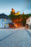 Orava castle. View of Orava castle in northern Slovakia stock photography