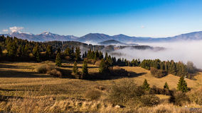 Orava-Natur übersehen Lizenzfreies Stockbild