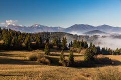 Orava nature overlook. From Valaska Dubova in Slovakia royalty free stock images