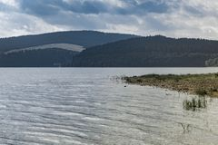 Orava reservoir. With the view on the other bank royalty free stock photography
