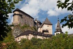 Orava Schloss Stockbilder