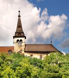 Orava Schloss - Glockenturm Lizenzfreie Stockbilder