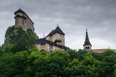 Orava slott Royaltyfri Bild