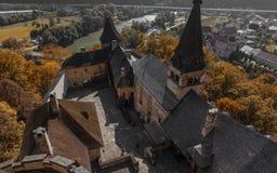 Orava slott i Slovakien royaltyfria bilder