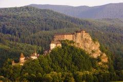 Oravsky Castle. In Slovak Republic royalty free stock image