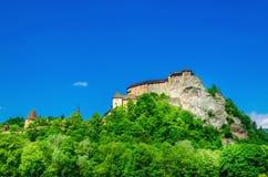 Oravsky Hrad Castle, Slovakia stock photos