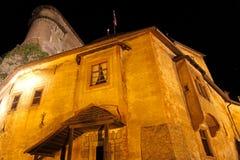 Oravsky hrad - Orava castle, Slovakia Royalty Free Stock Photos