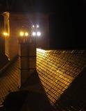 Oravsky hrad - Orava kasztel, Sistani zdjęcia stock