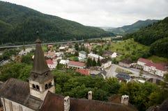 Oravsky Podzamok - Slovakia stock image