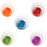 Orb banner Royalty Free Stock Images