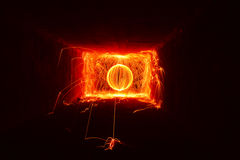 Orb Of Fire Royalty Free Stock Photos