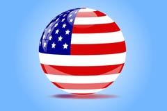 Orb van Amerika vector illustratie