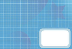 Orb van de Ster van de Gradiënt van de Grafiek van het net Abstracte Achtergrond Royalty-vrije Stock Afbeeldingen