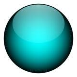 Orbe azul stock de ilustración