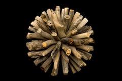 | Orbe de madera imagen de archivo