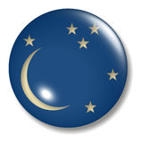 Orbe del botón de la Luna Nueva Fotos de archivo