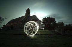 Orbe en la iglesia Imagen de archivo