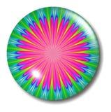 Orbe rosado del botón de la flor Fotos de archivo