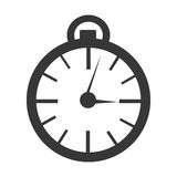 Orbed clock time concept, graphic Stock Photos
