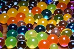 Orbeez colorido absorvente 4 do ponto alto foto de stock