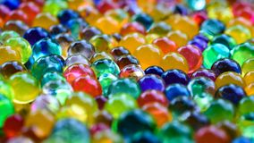 Orbeez colorido absorvente 1 do ponto alto foto de stock