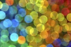 Orbes coloridos. Imagen de archivo