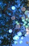 Orbes ligeros Imagen de archivo libre de regalías