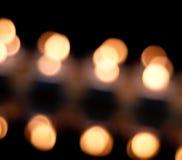 Orbes que brillan intensamente Foto de archivo