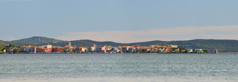Orbetello city in toscana Royalty Free Stock Photos