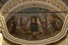 Orbetello-Kathedrale lizenzfreie stockfotos