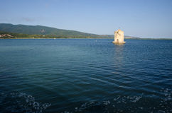 Orbetello lagoon Stock Photo