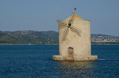 Orbetello lagoon Royalty Free Stock Photography