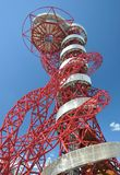 The Orbit, Olympic Park, London. The Orbit, the tallest art sructure in Britain at the Olympic Park, London Royalty Free Stock Image