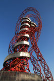 Orbit Tower - Paralymics London 2012. LONDON - SEPT 07: Orbit Tower in Olympic Park during the Paralympics on September 07, 2012, in London, England Royalty Free Stock Photography