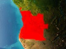 Orbita widok Angola Obrazy Stock