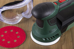 Orbital Power Sander Royalty Free Stock Image