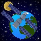 Orbital satellite station-4 Stock Photography