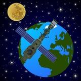 Orbital satellite station-2 Stock Image