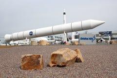 OrbitalATK-udde Rocket Garden Royaltyfri Fotografi