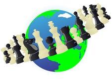 Orbite d'échecs illustration libre de droits