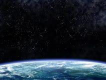 orbiting för jord stock illustrationer