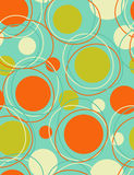 Orbits. Great  seamless wallpaper with circular shapes Royalty Free Stock Photography