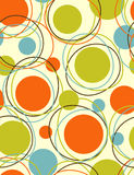 Orbits - abstract seamless pattern Stock Image