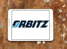Orbitz-Reise-Firmenlogo lizenzfreies stockbild