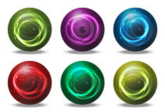 Orbs - spheres Stock Photos
