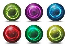 Orbs - spheres Stock Photos