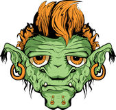 Orc. This is face of orc Royalty Free Stock Photo