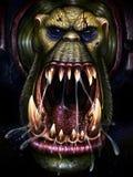 Orc de la furia Imagen de archivo libre de regalías